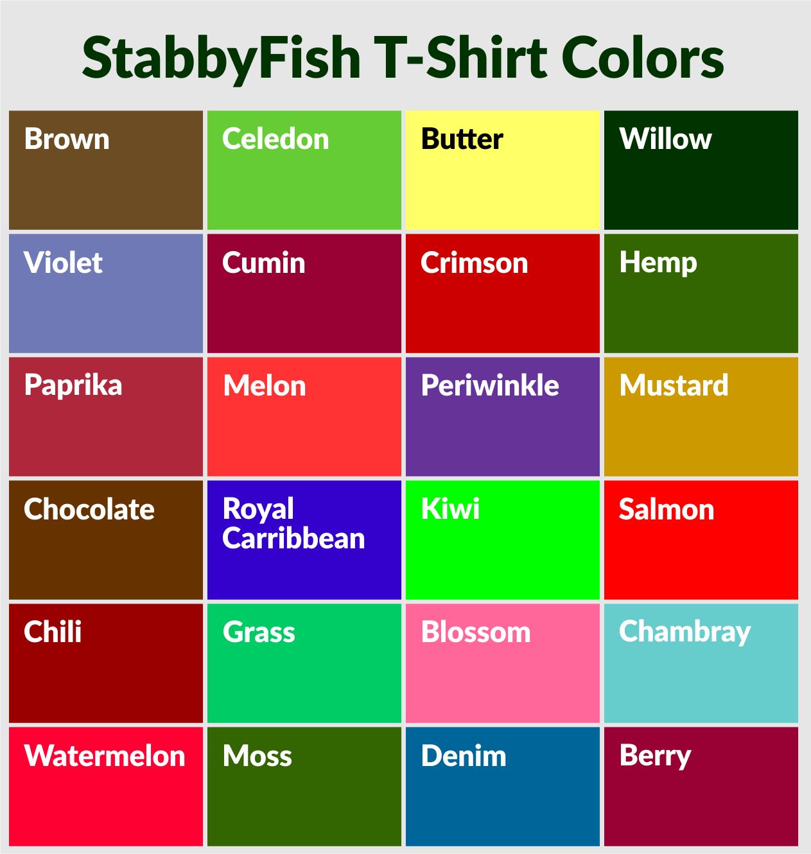 See Fish - Stab Fish - Eat Fish Flounder Gigging T-Shirt - Stabby Fish